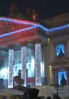 Người dân Brussels (Bỉ) hy vọng năm mới bình an