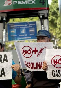 Người dân Mexico biểu tình phản đối tăng giá nhiên liệu