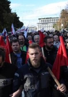 30.000 người tham gia đại biểu tình tại Hy Lạp