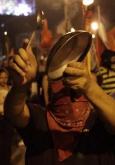 Biểu tình phản đối kết quả bầu cử Tổng thống tại Honduras