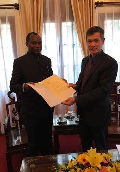 Việt Nam bổ nhiệm Lãnh sự danh dự tại Uganda