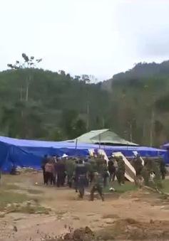 Quân khu 5 sát cánh cùng đồng bào vùng sạt lở Nam Trà My
