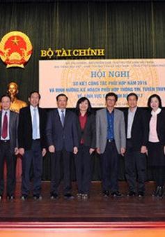 Bộ Tài chính tăng cường hợp tác tuyên truyền với Đài THVN