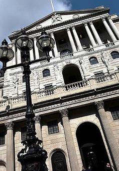 Ngân hàng Trung ương Anh tăng lãi suất lên 0,5%