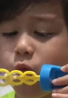 Triển lãm bong bóng xà phòng tại Hong Kong (Trung Quốc)