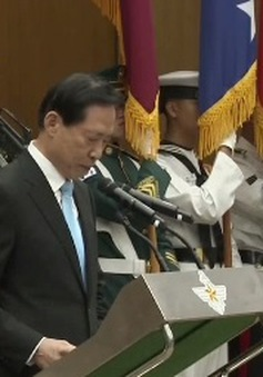 Bộ trưởng Bộ Quốc phòng Hàn Quốc tuyên thệ nhậm chức