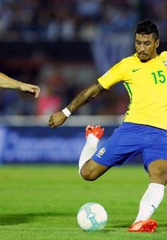 Vòng loại World Cup 2018: Uruguay 1-4 Brazil: Paulinho lập hat-trick, Brazil ngược dòng thành công