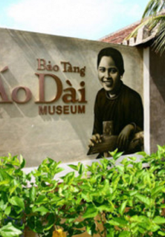 Thưởng thức cảnh quan kiến trúc của Bảo tàng Áo dài  Việt Nam