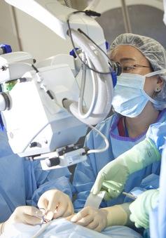 Bệnh viện bay đến Bình Định hỗ trợ tầm soát mắt