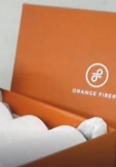 Vật liệu may mặc từ… vỏ cam