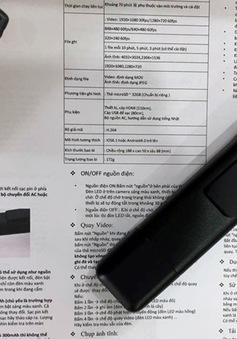 Công an Hà Nội tập huấn camera dạng bút cho lực lượng 141
