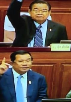 Quốc hội Campuchia thông qua Luật chính đảng sửa đổi