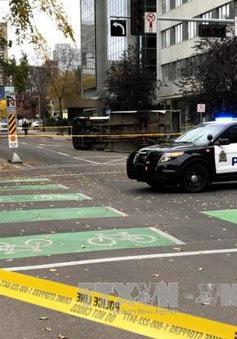 Canada điều tra khủng bố với vụ tấn công bằng dao vào cảnh sát