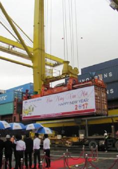 Cảng Đà Nẵng đón chuyến hàng đầu năm 2017