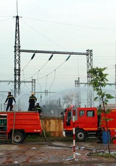 Khắc phục vụ cháy trạm biến áp cấp điện cho Samsung