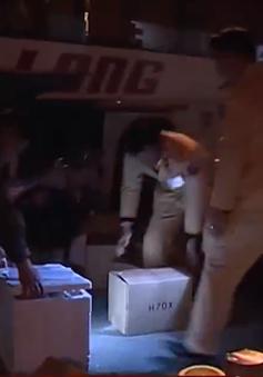 Hà Tĩnh bắt vụ vận chuyển 19 đầu khỉ và hàng không rõ nguồn gốc