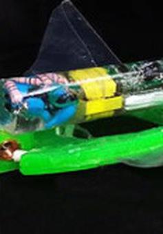 Cá robot giúp phát hiện các chất ô nhiễm trong nước