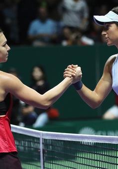 Bảng Đỏ WTA Finals 2017: Simona Halep và Caroline Wozniacki khởi đầu suôn sẻ