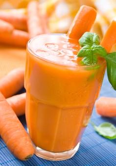 Không chỉ bổ mắt, nước ép cà rốt còn mang đến nhiều lợi ích cho cơ thể