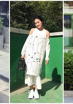 MC Phí Linh biến hóa với phong cách thời trang đa dạng và chất lừ