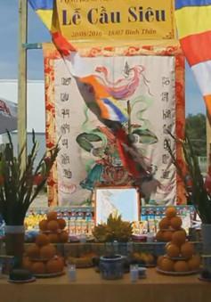 Hội người Việt Nam tại Ba Lan cầu siêu cho các anh hùng liệt sĩ