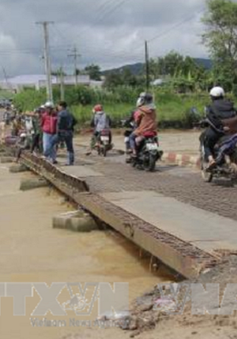 Lâm Đồng: Cầu Ông Thiều xuống cấp nghiêm trọng, liên tục gây tai nạn cho người dân
