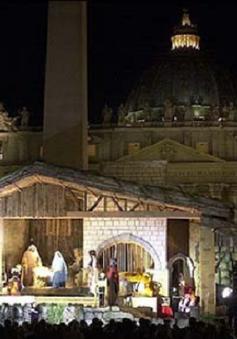 Vatican thắp sáng cây thông Noel và hang đá