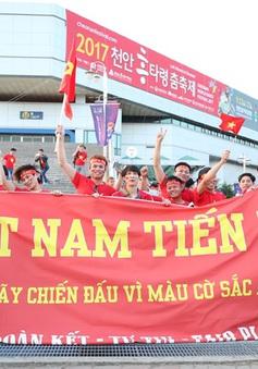 CĐV truyền lửa cho U20 Việt Nam tại Hàn Quốc