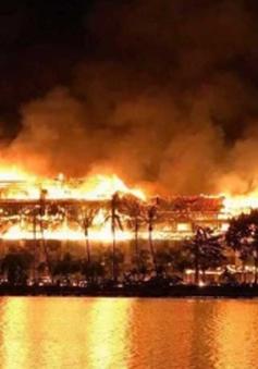 Myanmar: Cháy khách sạn tại Yangon, 3 người thương vong