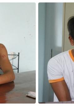 Bình Dương: Bị giật điện thoại, thiếu nữ truy đuổi, đạp ngã hai tên cướp