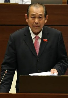 """Phó Thủ tướng Trương Hòa Bình trả lời chất vấn: """"Nóng"""" vấn đề thiếu vốn tại các dự án giao thông"""