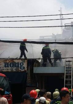 Cháy nhà tại quận Phú Nhuận, TP.HCM