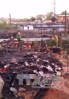 Lâm Đồng: Cháy nhà khiến 2 bé trai thiệt mạng