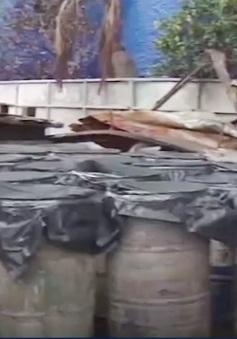 Tiền Giang: Ô nhiễm vì kho vật tư nông nghiệp bị cháy