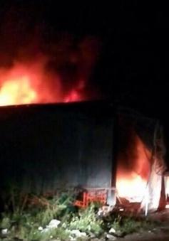 Đắk Lắk: Cháy lớn ở siêu thị điện máy