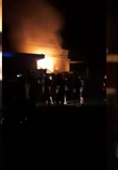 Video: Cháy cây xăng ở Đắk Lắk, một người bị bỏng nặng
