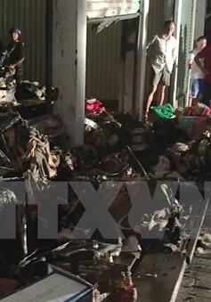 Cà Mau: Cháy chợ trong đêm gây thiệt hại hơn 2,6 tỷ đồng