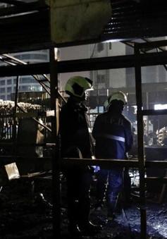 Cháy lớn tại trung tâm tài chính Mumbai (Ấn Độ) làm 12 người chết