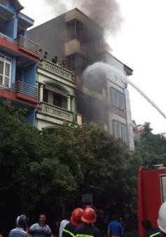 Hà Nội: Cháy nhà tại Xuân Đỉnh, 4 người thiệt mạng