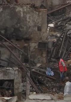 Cháy cửa hàng tại Ấn Độ, 12 người thiệt mạng
