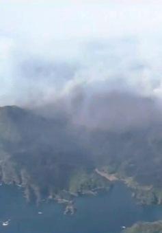 Cháy rừng dữ dội ở Đông Bắc Nhật Bản