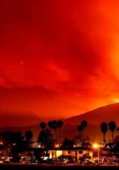 Bang California ban bố tình trạng khẩn cấp do cháy rừng