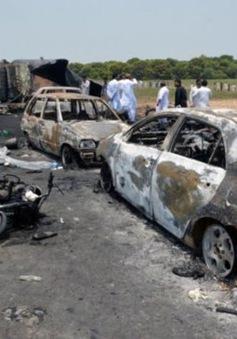 Số người thiệt mạng tăng cao trong vụ cháy xe bồn chở dầu tại Pakistan