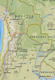 Động đất mạnh 7,1 độ richter rung chuyển Chile
