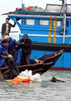 Bà Rịa - Vũng Tàu: Tìm kiếm 5 ngư dân bị mất tích trên biển