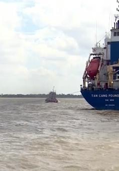 Công bố luồng hàng hải cho tàu biển vào sông Hậu