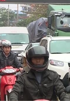 Chợ Viềng, Nam Định: Chưa đến phiên đã tắc đường cả km