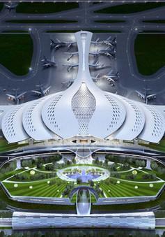 Nét độc đáo trong thiết kế Hoa sen của sân bay Long Thành