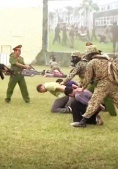 Diễn tập thực binh chống khủng bố tại Hà Nội