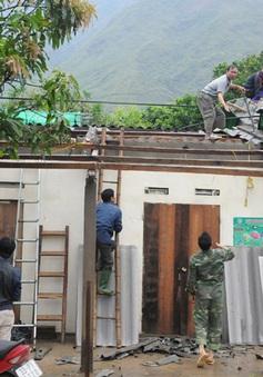 Thái Nguyên: Khẩn trương khắc phục hậu quả giông lốc